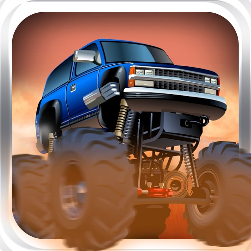Uphill Coin Rush - Xtreme Monster Truck Hill Climber