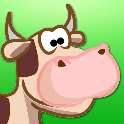 Shape Game Farm Animals Cartoon  - for kids and young childs children childrens games toddler kindergarten preschool primary year 1 2 3 4 5 old funny grade peekaboo 123 nina hijos educational tica puz icon