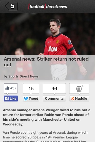 Football Direct News - Powered by fanatix screenshot 2