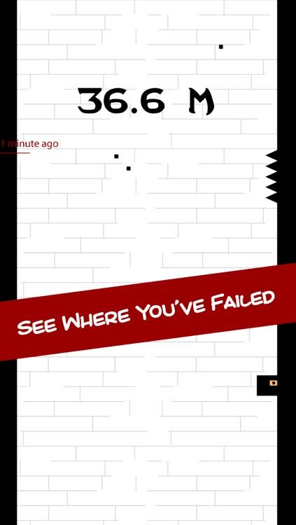 Bouncy Ninja Rises: Don't Touch The Black Tile Spikes screenshot-3
