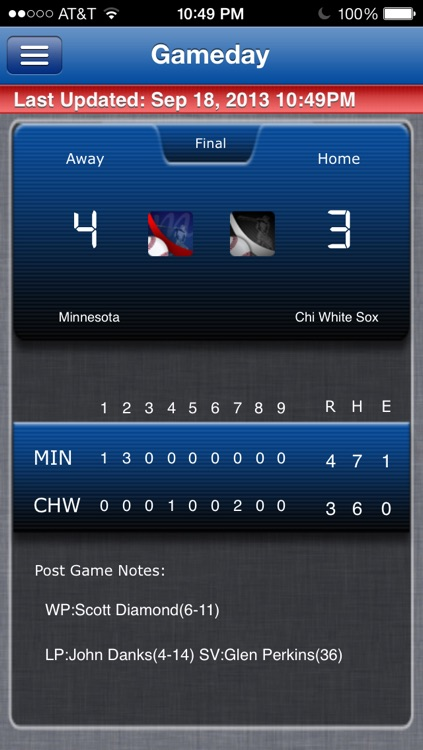 Minnesota Baseball Live screenshot-0
