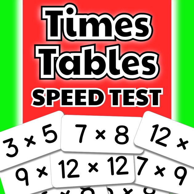 Times Tables Speed Test – Become a Master of ...