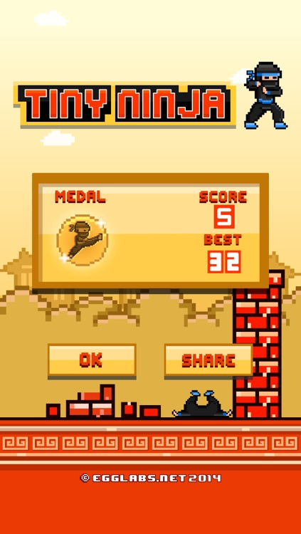 Tiny Ninja Fighter - Play 8-bit Pixel Retro Fighting Games for Free screenshot-3