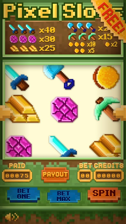 Slots Of Pixels - Win Jackpot Minecraft Edition FREE