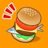 バーガーフリッカー 〜大食いJK来店!フリックで超速ハンバーガー作り - iPhoneアプリ