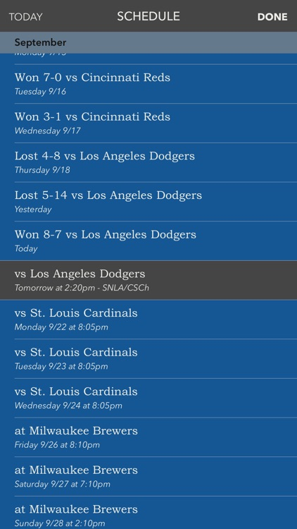 Scored - a better sports app. screenshot-3