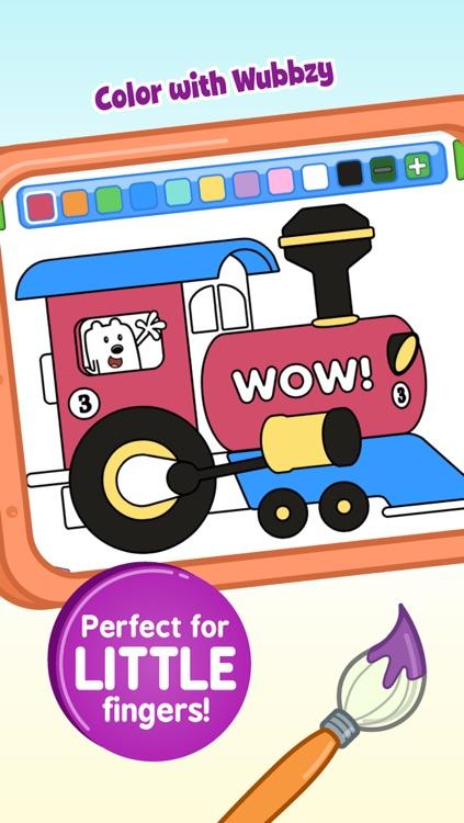 Wubbzy's Train Adventure screenshot-4