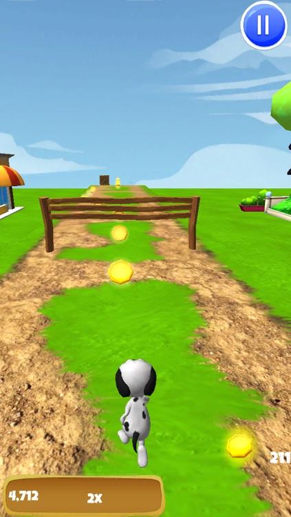 A Dog Runner: Doggie Race Game - FREE Edition screenshot-3