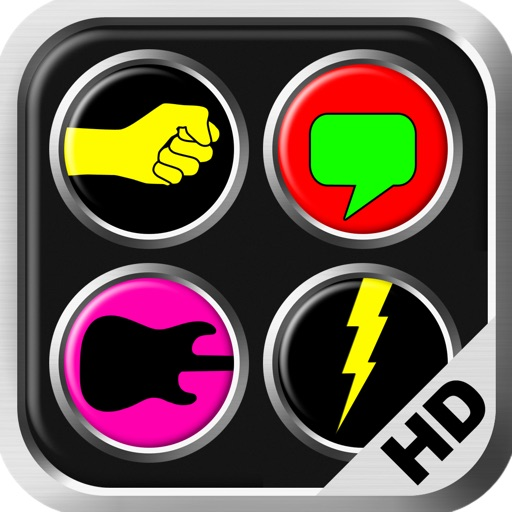 Big Button Box 2 HD - funny sounds, sound effects buttons, pro fx soundboard, fun games board, scary music, annoying fart noises, jokes, super cool dj effect, cat, dog & cartoon fx