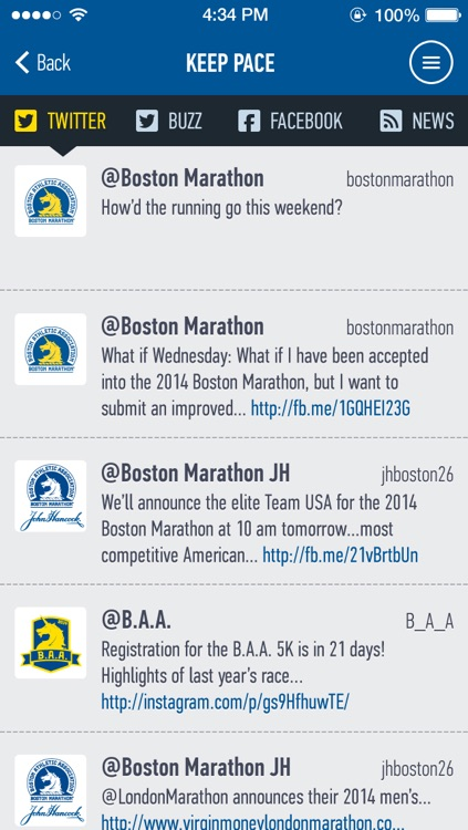 Boston Marathon World Run
