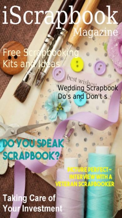 iScrapbook Magazine screenshot1