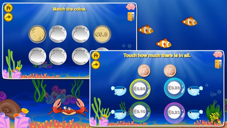 Euro€(LITE): Coin Math for kids, educational  learning games education screenshot-3