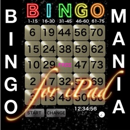BINGO MANIA The Card for iPad