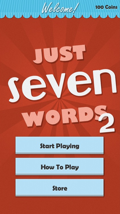 Just Seven Words 2 - More Challenges for Word Game Experts screenshot-3