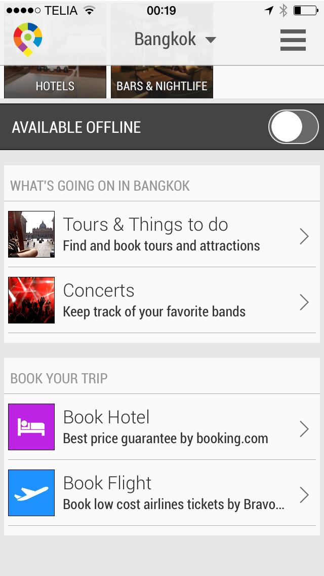 Bangkok City Travel Guide - GuidePal screenshot two