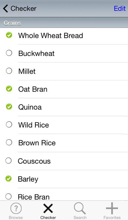 Dash Diet Food Checker screenshot-3