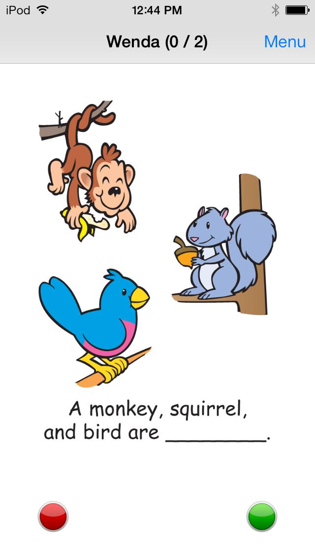 Name That Animal Category Fun Deck screenshot three