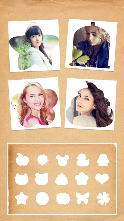 Photo Shape -Insta Frame Editor &Split Pic Collage Blender