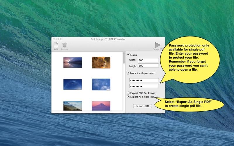 Images To PDF Converter New скриншот программы 3