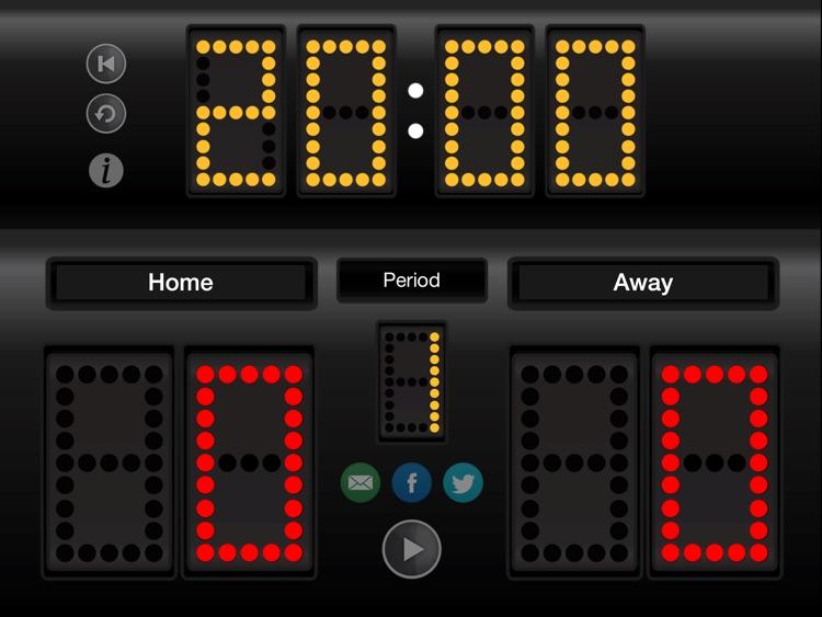 JD Sports Scoreboard