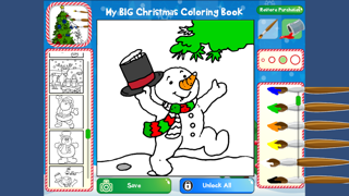 クリスマスぬりえブックのおすすめ画像4
