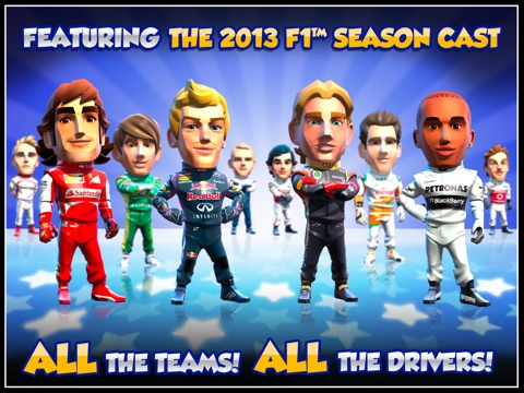Screenshot #3 for F1 Race Stars™