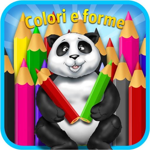 giochi per bambini : colori e forme