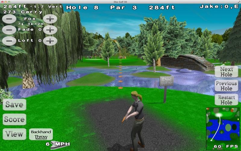 Disc Golf 3D Lite Screenshot