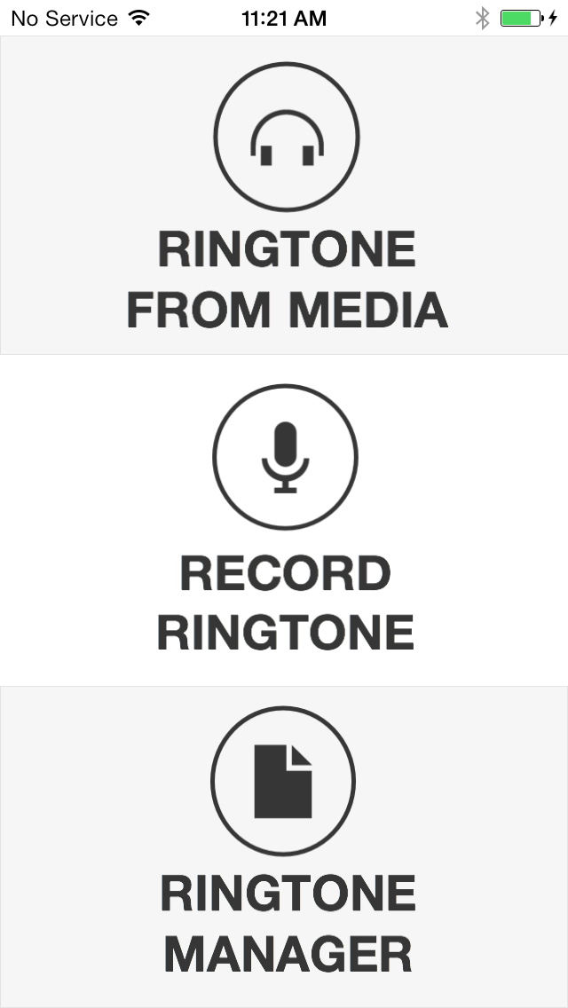 UnlimTones - Create Unlimited Ringtones, Text Tones, Email Alerts, and More! screenshot one