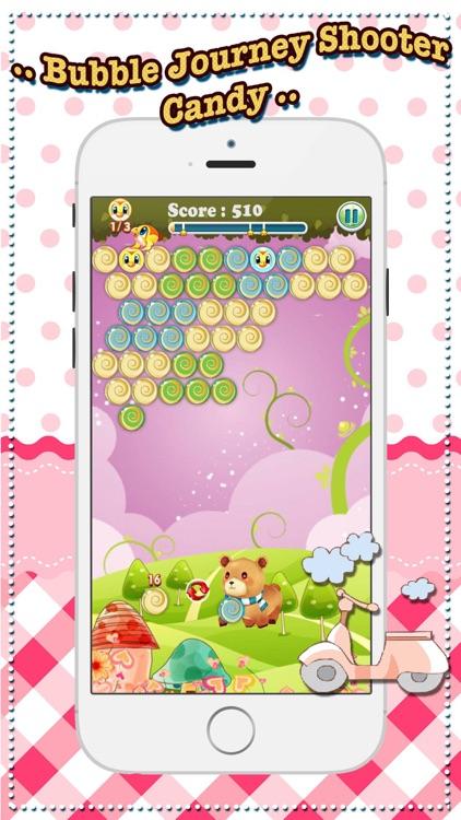 Bubble Journey Shooter Candy screenshot-4