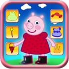 Переодевание Свинья игра для детей icon