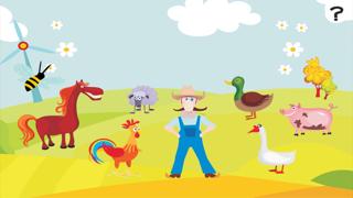 ABC 農場 !子供のためのゲーム: 学ぶ 言葉や動物とアルファベットを書き込むことができます。無償、新しい、幼稚園、保育園、学校のために、学習!のおすすめ画像1
