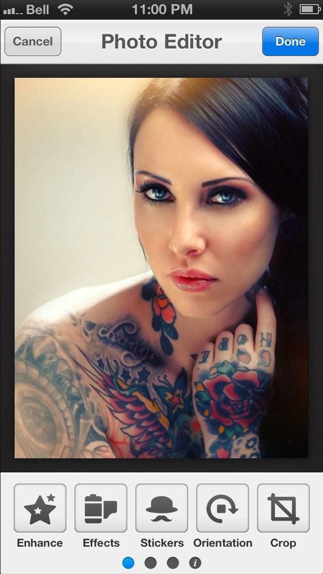 Tattoos Ideas & Tattoo Designs - for Custom Ink Tats & Body Art Pictures Screenshot