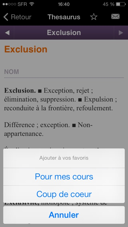 Thesaurus Larousse screenshot-4