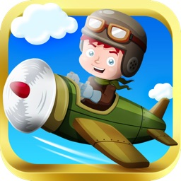 Arcade Kid Runner - Endless 3D Flying Action with War Plane - Free To Play for Kids