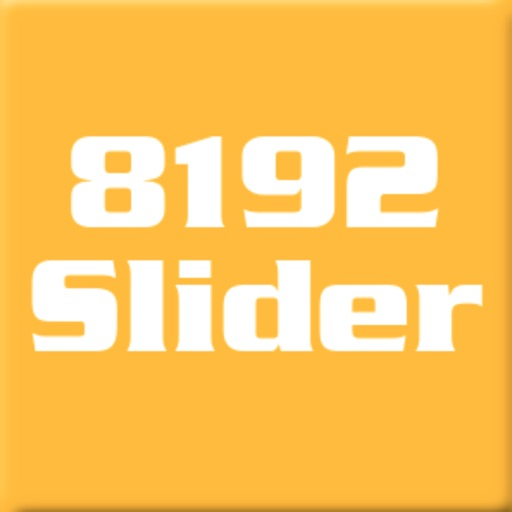 8192 Slider 5x5 Number Puzzle Game icon