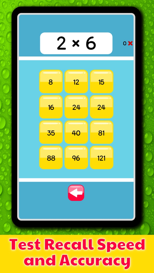 Times Tables Speed Test – Become a Master of Multiplication! | App ...