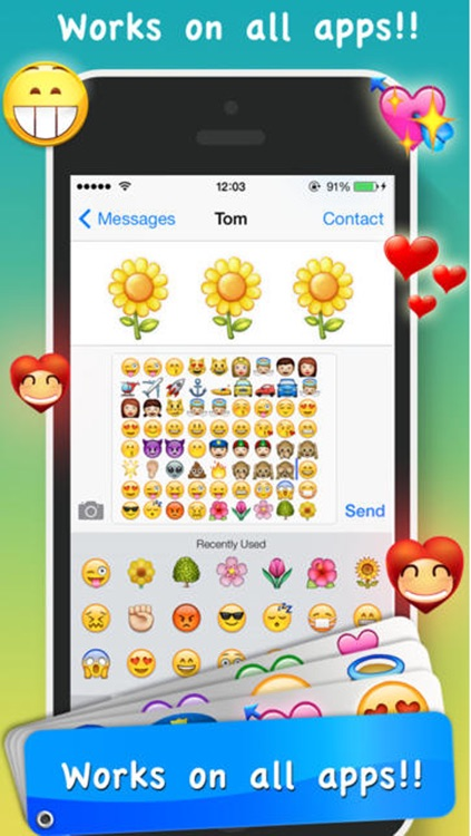 Emoji Emoticons & Animated 3D Smileys PRO - SMS,MMS Faces Stickers for WhatsApp