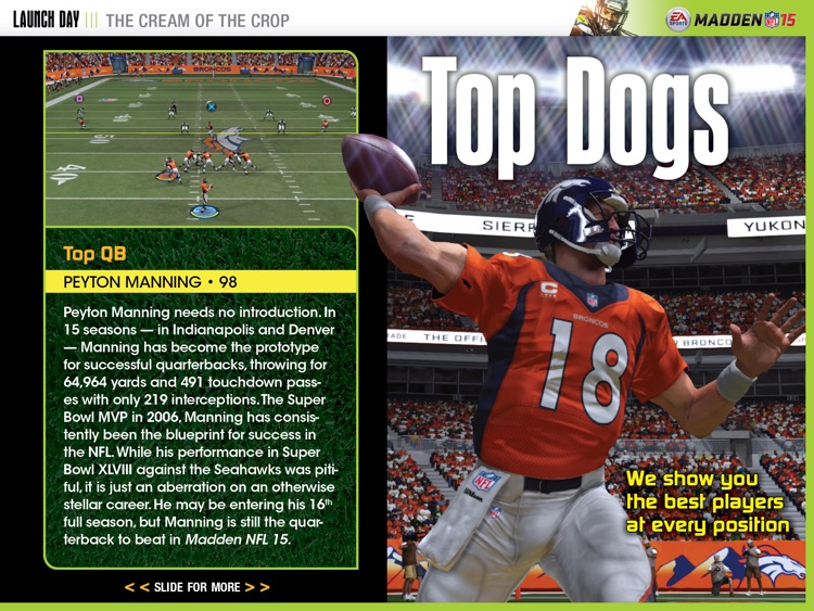 LAUNCH DAY APP: MADDEN NFL 15 screenshot-4