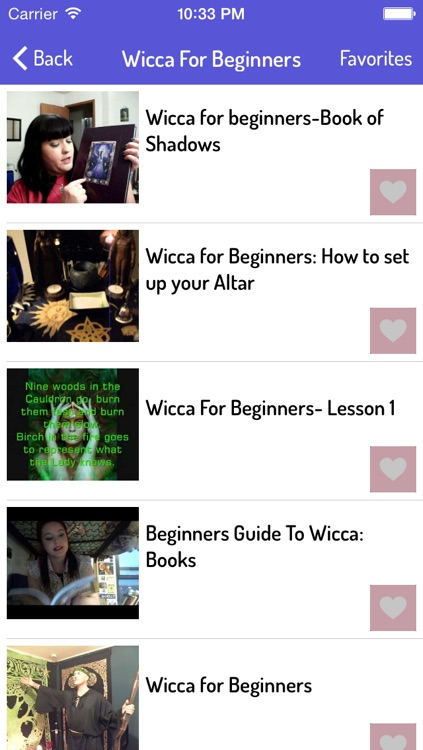 Wicca Guide screenshot-1