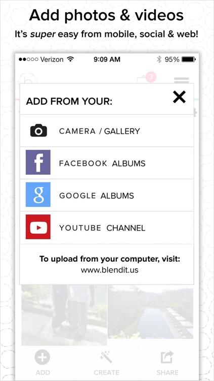 BlendIt - Connect. Blend. Share.