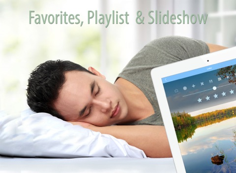 Sleep Sounds and Music to Reduce Stress, Better Sleep, Yoga, Therapy and Spa screenshot