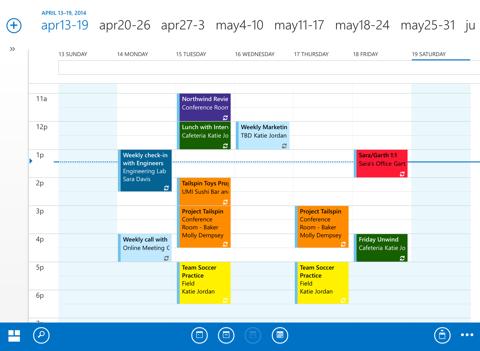OWA for iPad screenshot two