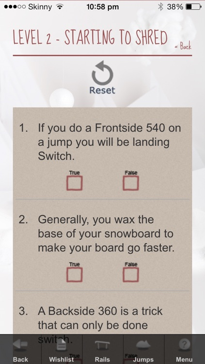 Trick Bag Snowboarding screenshot-3