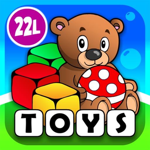 Toys Train • Kids Love Learning Toys: Fun Interactive Adventure Game with Animals, Cars, Trucks and more Vehicles for Children (Baby, Toddler, Preschool) by Abby Monkey®
