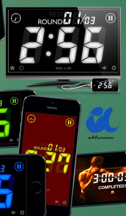 Boxing Timer G - Boxing Workout interval round timer screenshot-4