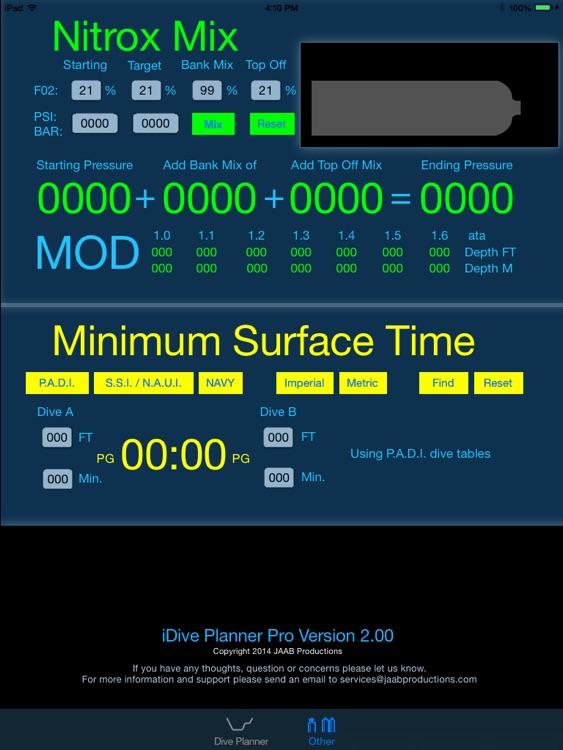 iDive Planner Pro screenshot-4