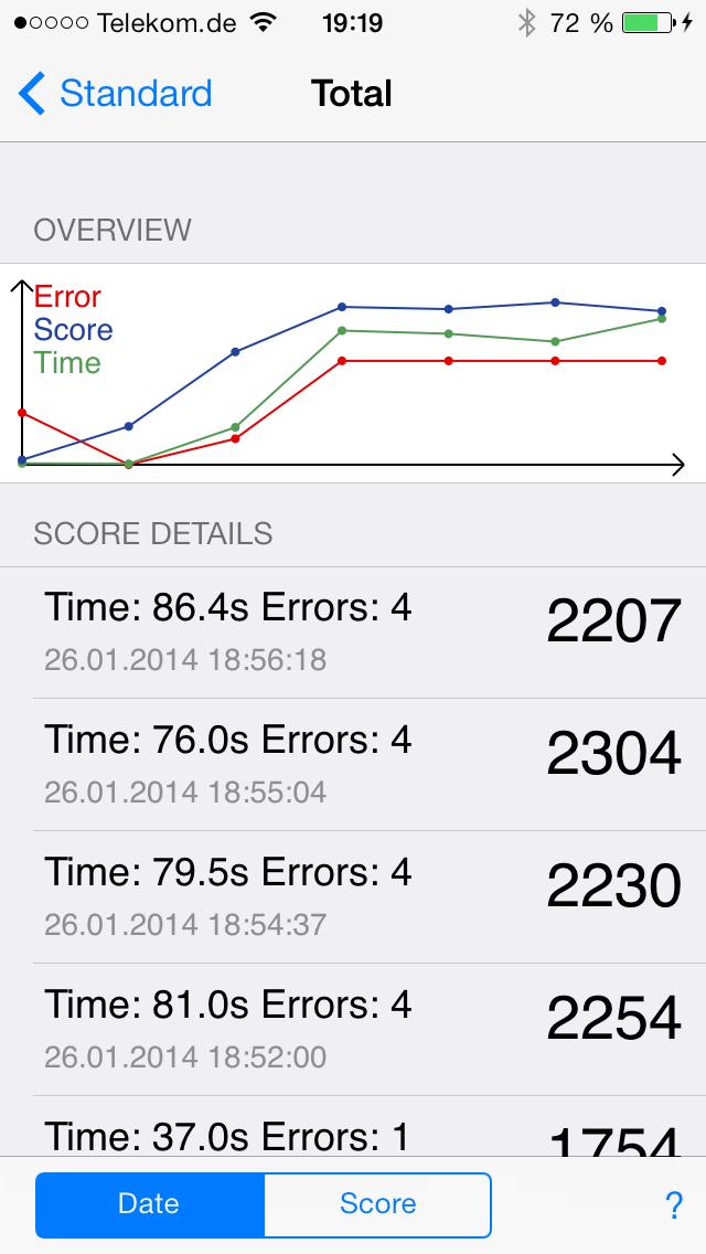 Math Trainer screenshot two