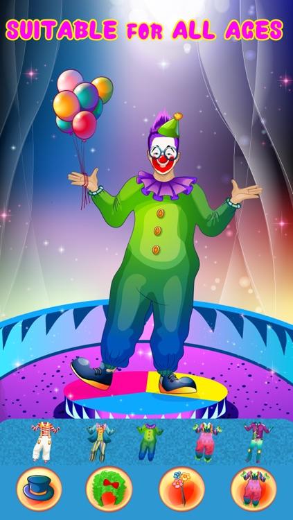 Crazy Circus Clowns - Dress Up Game screenshot-4