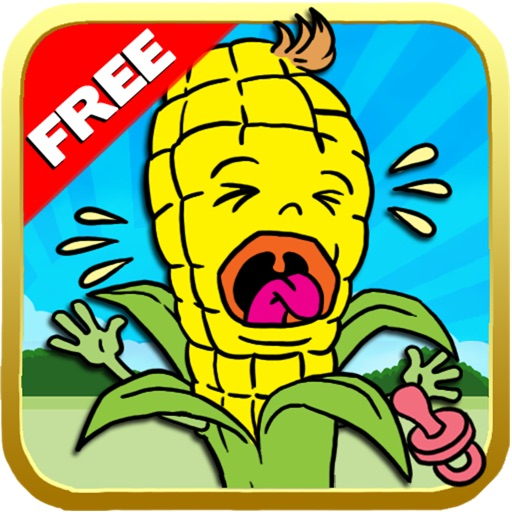 `Baby Corn Run Race Free - Easy Kids Jump Chase Racing by Top Crazy Games Icon